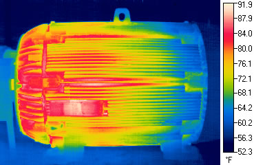 ifrared thermography motor testing